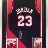 Signed Michael Jordan singlet